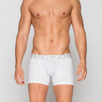 Boxer Briefs // White (XL)