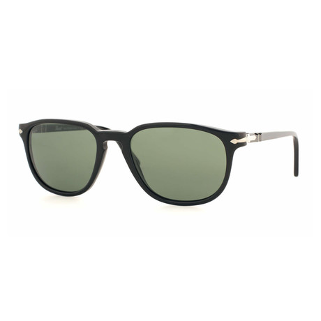 Persol Men's PO3019S Square Sunglasses //Black+ Gray