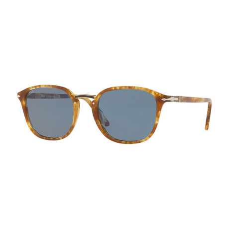 Persol Men's Combo Evolution Sunglasses // Tortoise+ Polarized Brwon