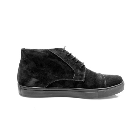 Buddy Boot // Black Suede (Euro: 40)