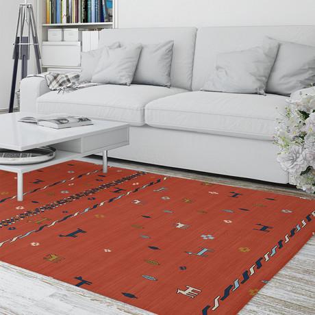Keelut Gabbeh Red // Area Rug (2.6'L x 8'W)