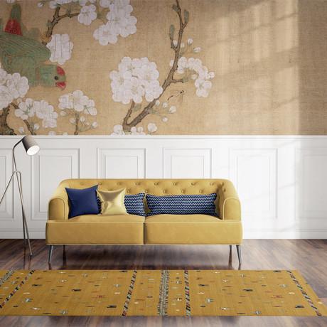 Keelut Gabbeh Yellow // Area Rug (2.6'L x 8'W)