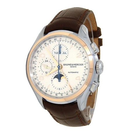 Baume & Mercier Clifton Core Chronograph Automatic // M0A10280 // Pre-Owned