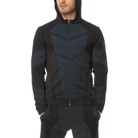 Iron-Ic // 7.0 Hooded Jacket // Black (S)