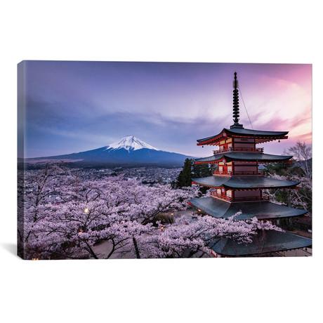 "Mount Fuji XV // Daisuke Uematsu (18""W x 12""H x 0.75""D)"