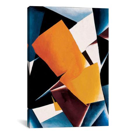 """Painterly Architectonics // Lyubov Popova (12""""W x 18""""H x 0.75""""D)"""