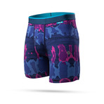 Rhea Boxer Briefs // Navy + Purple (S)