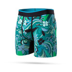 Scarfed Boxer Briefs // Green (S)