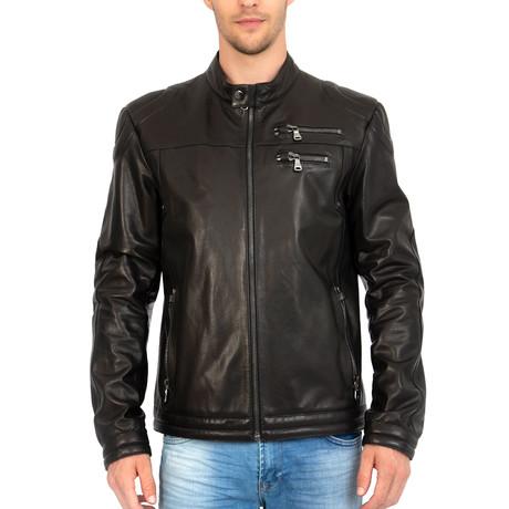 Propriety Leather Jacket // Black (S)