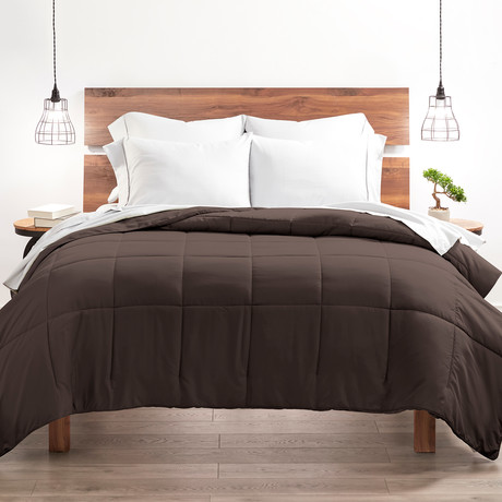 Good Kind Super Plush Down Alternative Comforter // Chocolate (Twin/TwinXL)