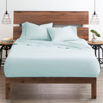 Good Kind  Essential 4 Piece Bed Sheet Set // Aqua (Twin)