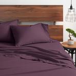 Good Kind Essential 6 Piece Bed Sheet Set // Purple (Twin)