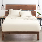 Good Kind Essential 6 Piece Bed Sheet Set // Ivory (Twin)