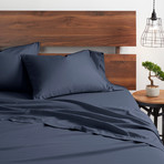 Good Kind Essential 4 Piece Bed Sheet Set // Navy (Twin)