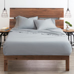 Good Kind  Essential 6 Piece Bed Sheet Set // Light Gray (Twin)