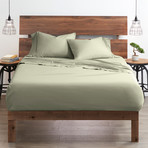 Good Kind Essential 4 Piece Bed Sheet Set // Sage (Twin)