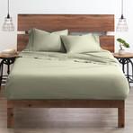 Good Kind  Essential 4 Piece Bed Sheet Set // Sage (Twin)