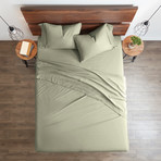 Good Kind Premium Double-Brushed 3pc Duvet Cover Set // Sage (Twin)