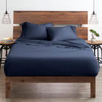 Good Kind Premium Double-Brushed Duvet Cover Set // Navy (Twin)