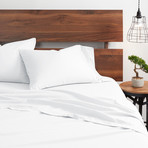 Good Kind Premium Double-Brushed Duvet Cover Set // White (Twin)