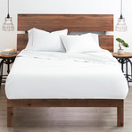 Good Kind Essential 4 Piece Bed Sheet Set // White (Twin)