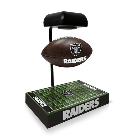 Las Vegas Raiders Hover Football + Bluetooth Speaker