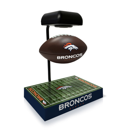 Denver Broncos Hover Football + Bluetooth Speaker
