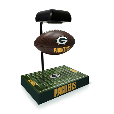 Green Bay Packers Hover Football + Bluetooth Speaker