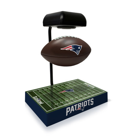New England Patriots Hover Football + Bluetooth Speaker
