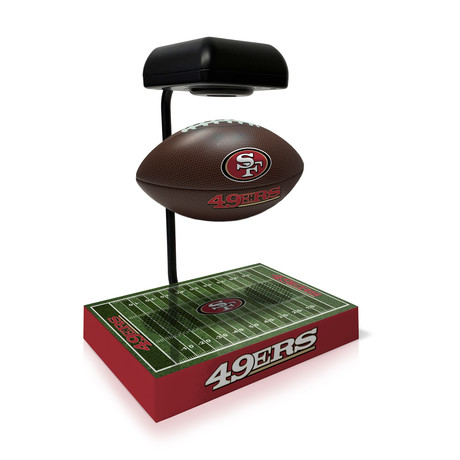 San Francisco 49Ers Hover Football + Bluetooth Speaker
