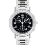 Hermes Clipper Chronograph Quartz // CL1.910 // Pre-Owned