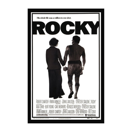 Movie Poster // Rocky