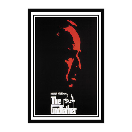 Vintage Movie Poster // The Godfather // Ver. II