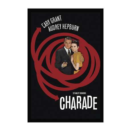 Vintage Movie Poster // Charade