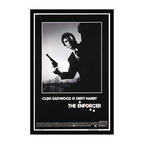 Vintage Movie Poster // The Enforcer