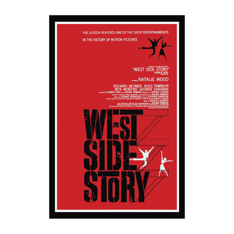 Vintage Movie Poster // West Side Story