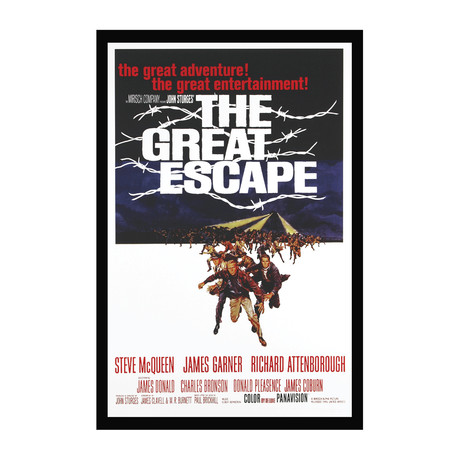Vintage Movie Poster // The Great Escape