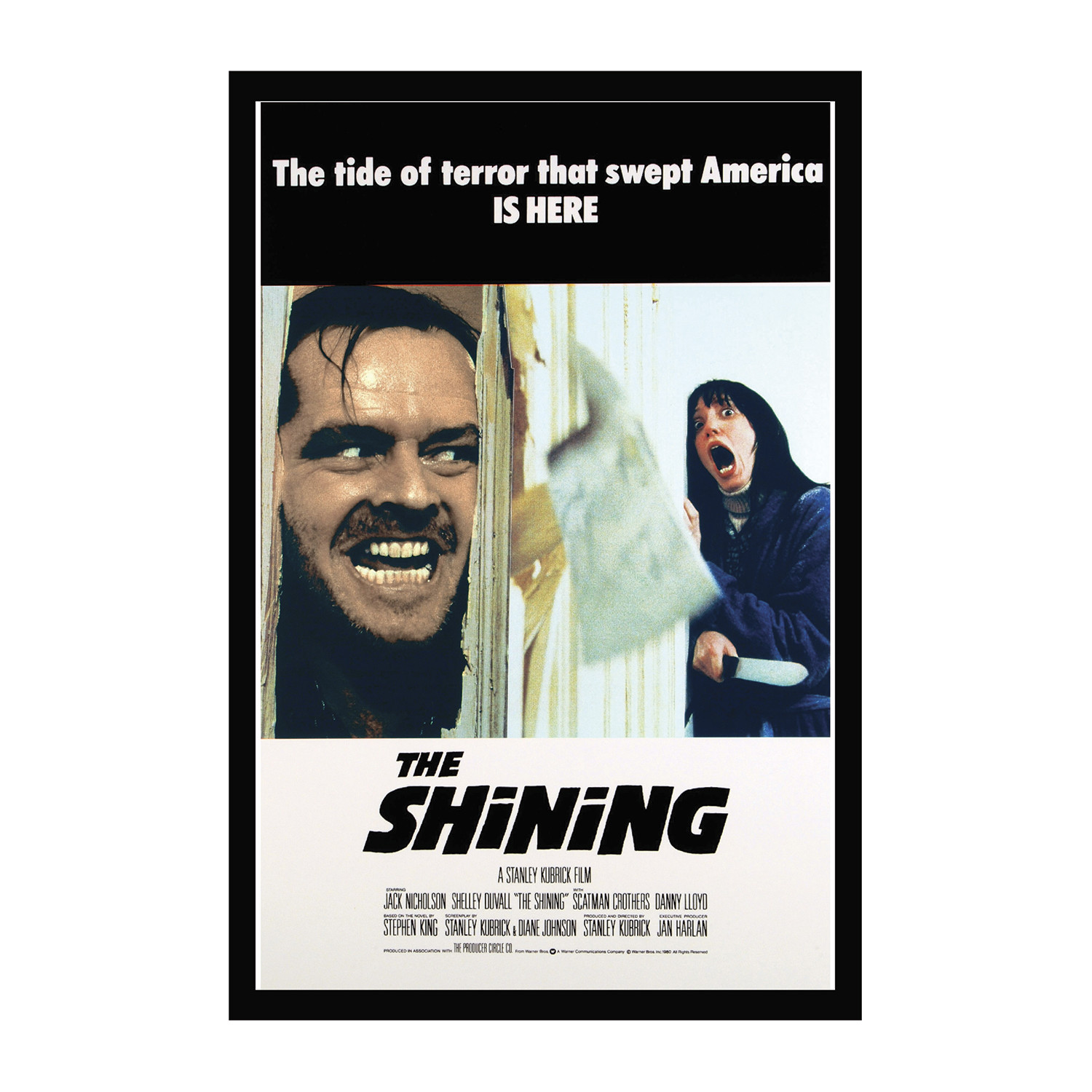 Movie Poster // The Shining