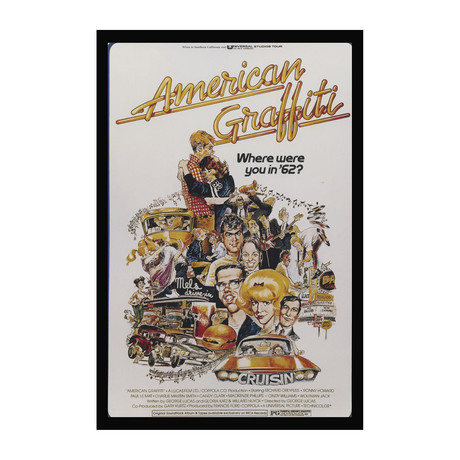 Vintage Movie Poster // American Graffiti
