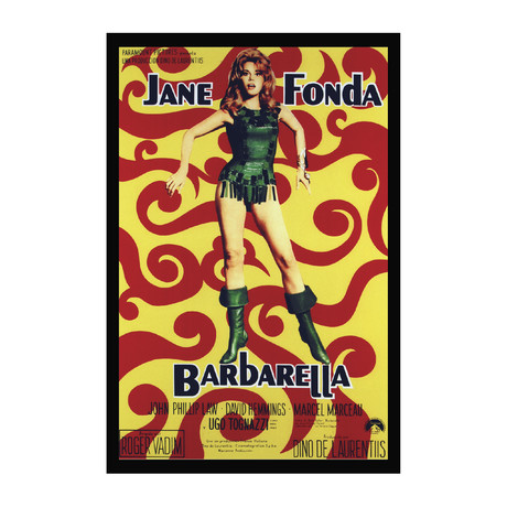 Vintage Movie Poster // Barbarella