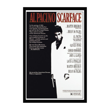 Movie Poster // Scarface