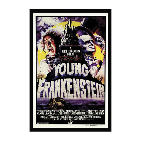 Vintage Movie Poster // Young Frankenstein