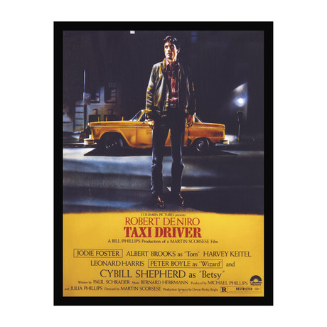 Vintage Movie Poster // Taxi Driver