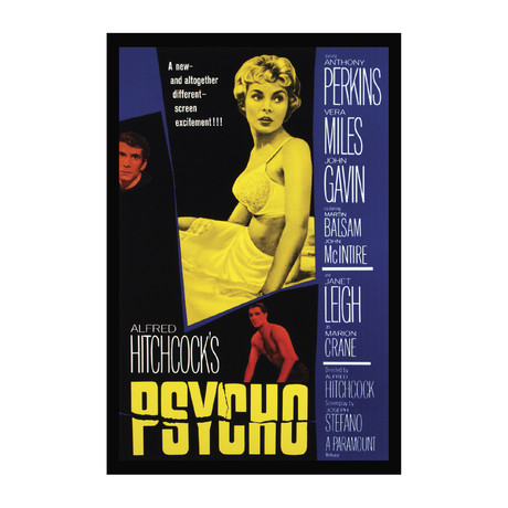 Vintage Movie Poster // Psycho