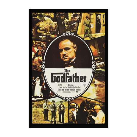 Vintage Movie Poster // The Godfather // Ver. I