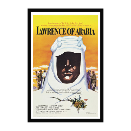 Vintage Movie Poster // Lawrence of Arabia