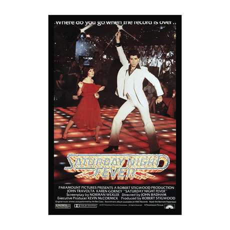 Movie Poster // Saturday Night Fever
