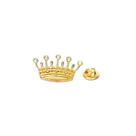 Crown Lapel Pin + Pin