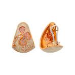 Nouvelle Bague 18k Rose Gold Earrings