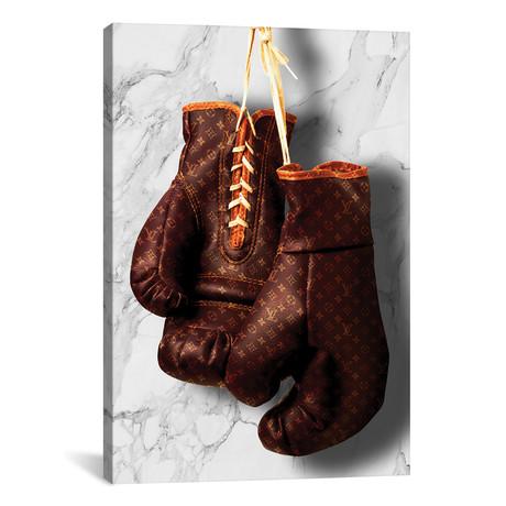 "LV Boxing // Alexandre Venancio (12""W x 18""H x 0.75""D)"